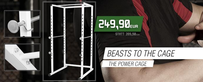 POWER IM CAGE!